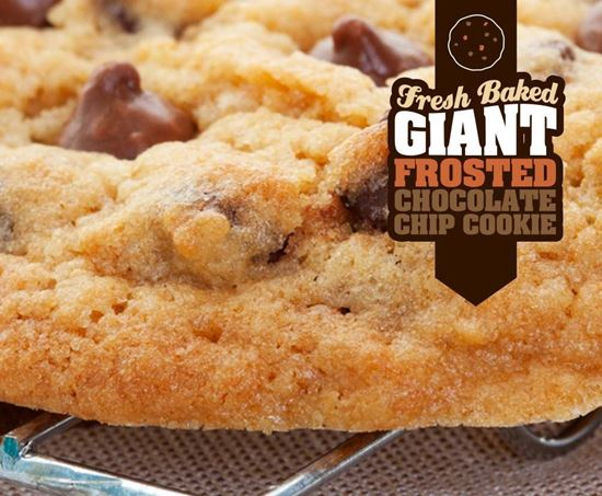 Picture of Giant Frosted Chocolate Chip Cookie
